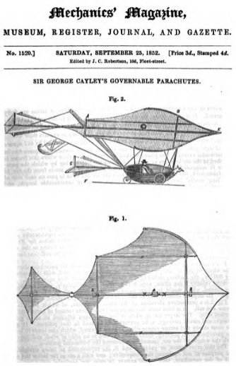 Govern able parachute